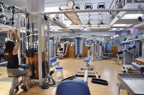 Instalaciones del gimnasio Zeus (Foto: gimnasio Zeus)
