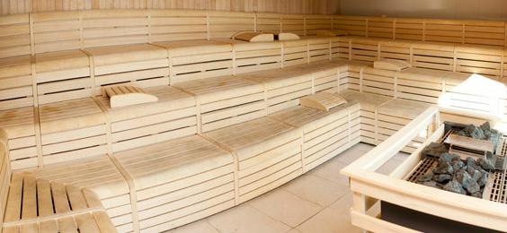 Sauna en el gimnasio DreamFit de Vallecas (Foto: DreamFit)