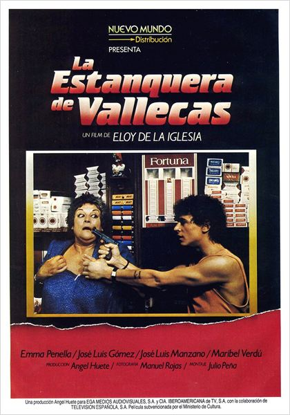 Cartel de 'La estanquera de Vallecas'