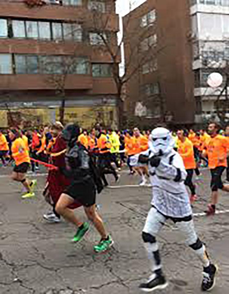 36.000 corredores han participado en la prueba popular (Foto: Redacción)