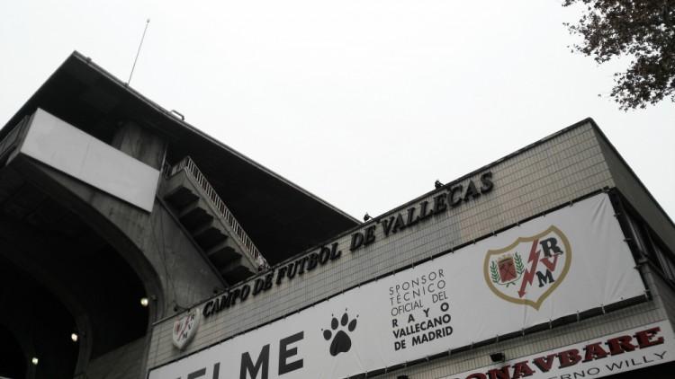 Estadio de Fútbol de Vallecas (Foto: Redacción)