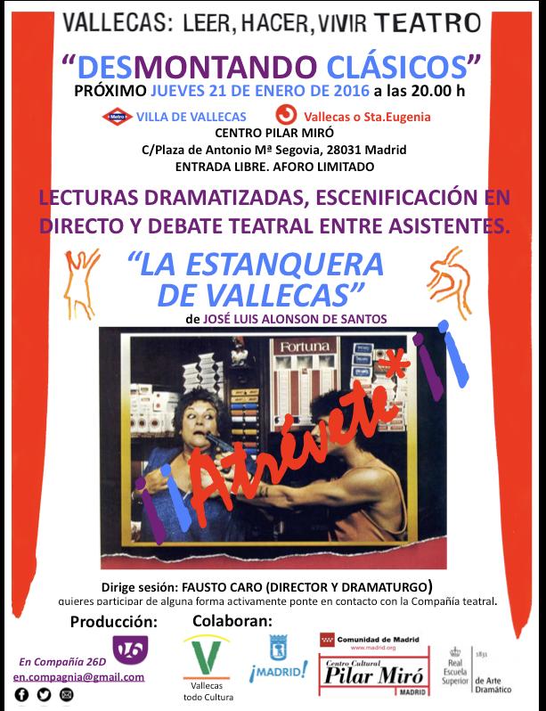 Desmontando Clásicos en el C. C. Pilar Miró
