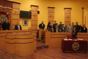 Pleno en Villa de Vallecas (Foto: Junta Municipal)