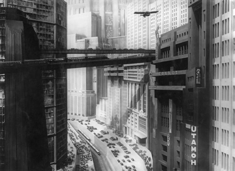 La ciudad imaginada por Fritz Lang en 'Metrópolis'