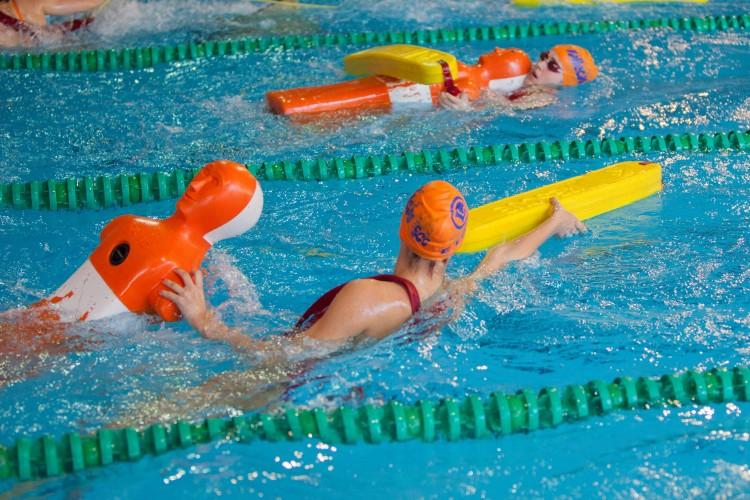Una imagen de la actividad de las Escuelas Municipales de Salvamento