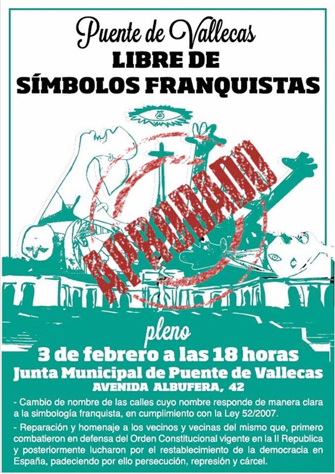 Proposición del grupo municipal Ahora Madrid