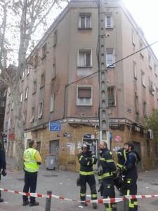 Fachada del edificio desalojado (Foto: Ayuntamiento de Madrid)