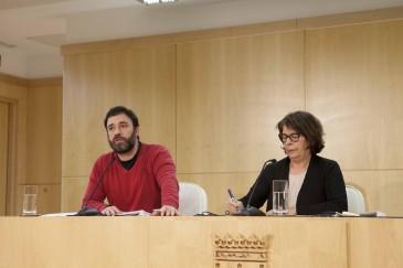Nacho Murgui e Inés Sabanés (Foto: Ayto. de Madrid)