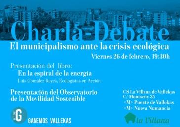 Charla-debate en La Villana de Vallekas