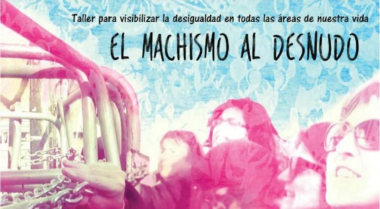 Cartel del taller 'El machismo al desnudo'