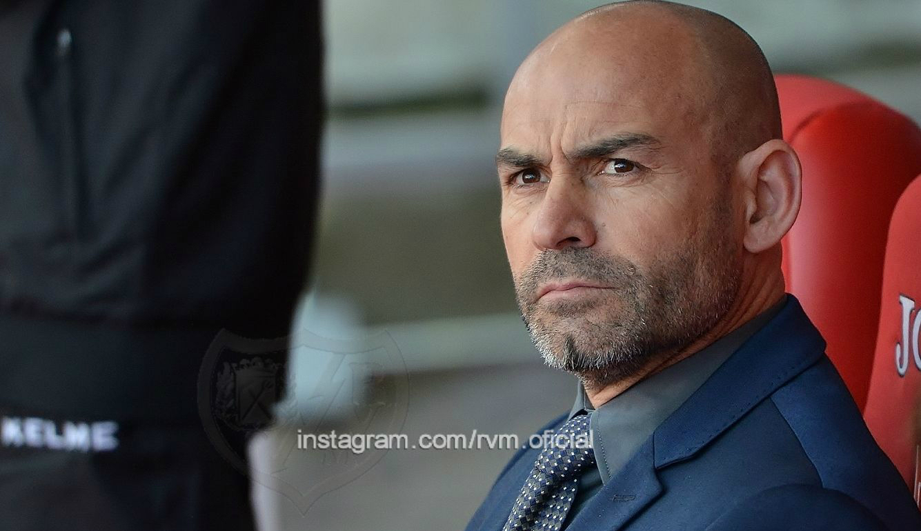 El entrenador del Rayo Vallecano, Paco Jémez