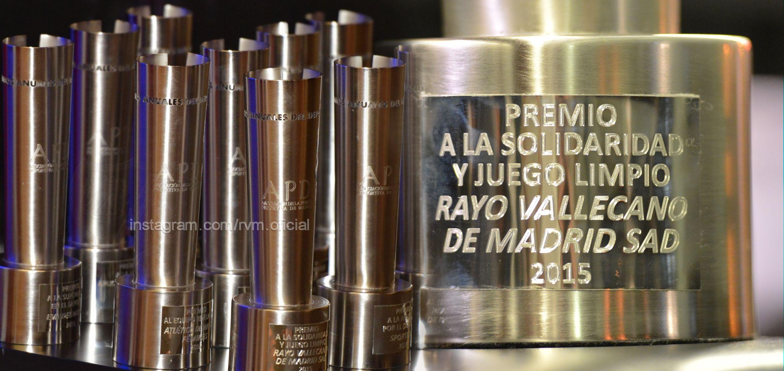 Premio 'Solidaridad y juego limpio' (Foto: Rayo Vallecano)
