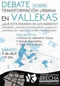 Cartel: Centro Social La Brecha