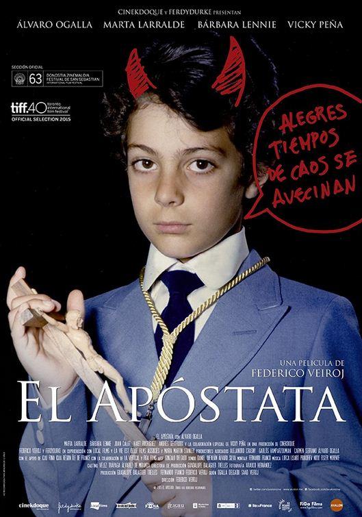 Cartel de 'El Apóstata' (Avalon)