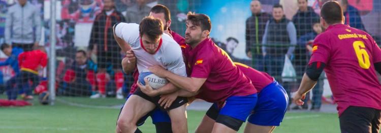 Gran éxito del primer triangular de rugby en Vallecas