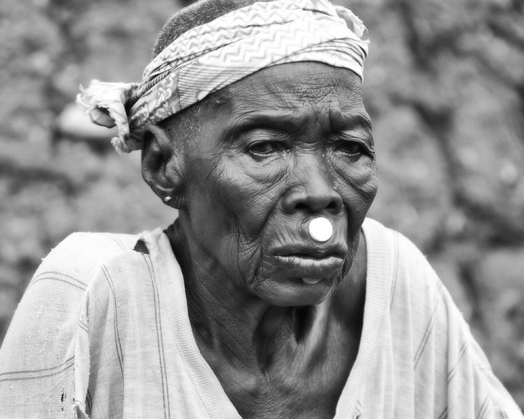 Una de las fotografías de 'Los Lobi de Burkina Faso' (Foto: Juan José Pastor)