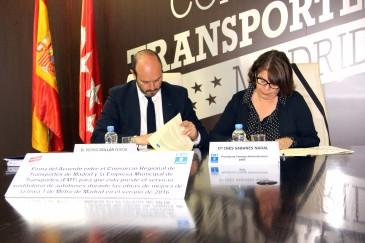 Pedro Rollán e Inés Sabanés (Foto: Ayuntamiento de Madrid)