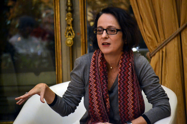 La escritora Marta Sanz (Foto: Casa de América)