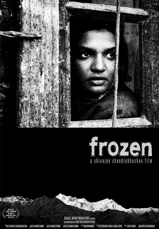 Cartel de 'Frozen' de Shivajee Chandrabhushan