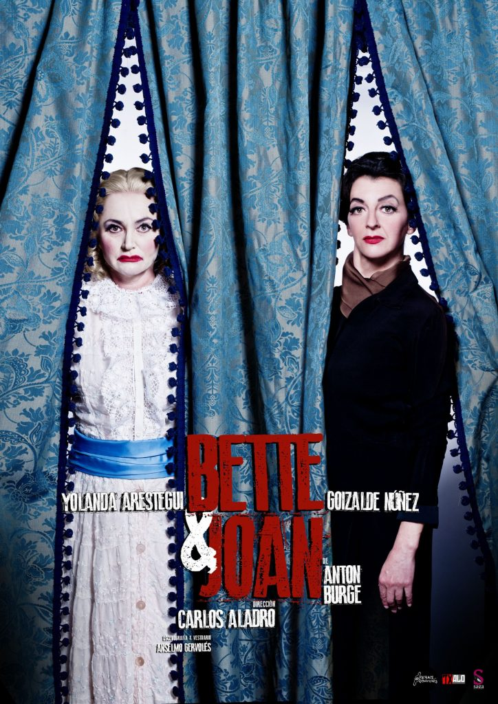 Cartel de 'Bette & Joan' (Descalzos Producciones)