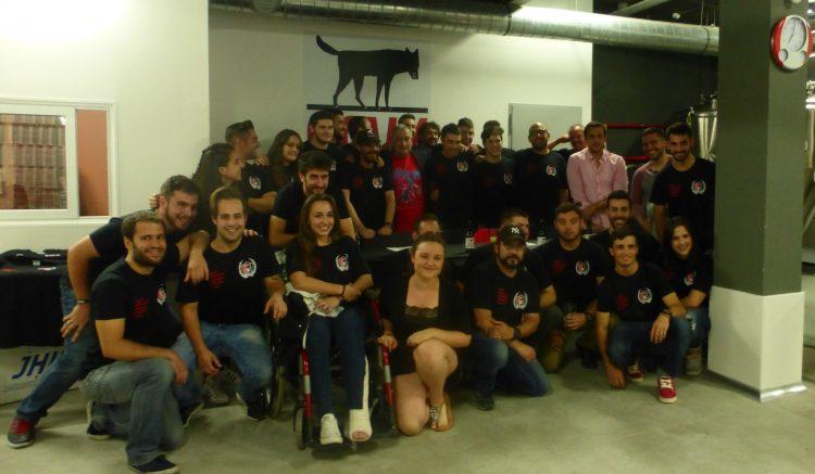 Foto de grupo del Vallecas Rugby Unión (FOTO: Vallecas Rugby Club)