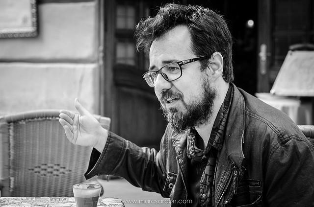 El director de cine Paco Plaza (FOTO: Marc Sardon)