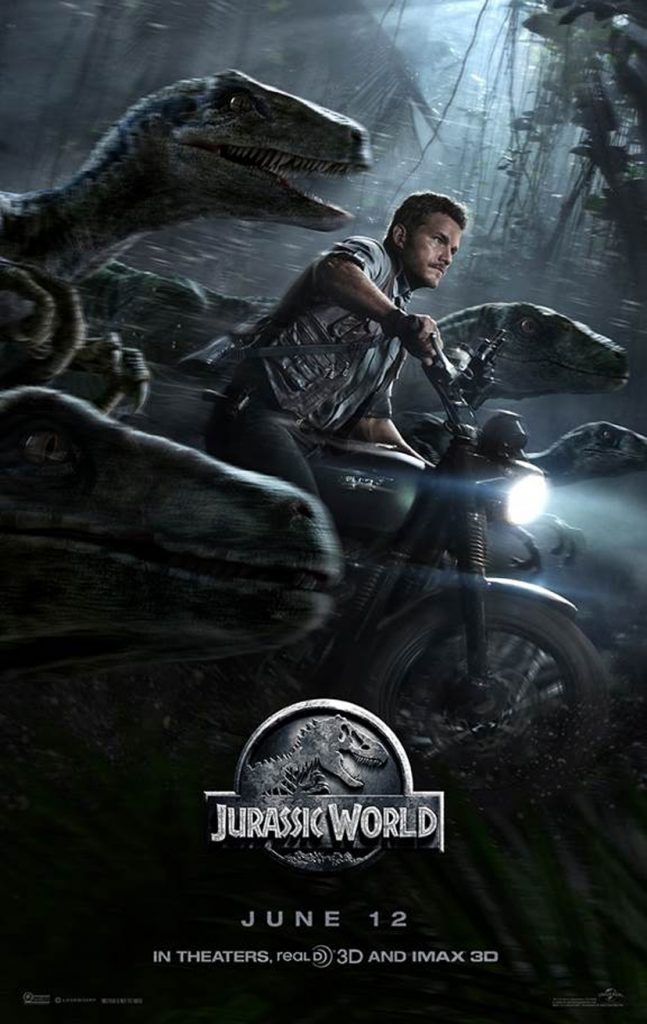 Cartel de 'Jurassic World'