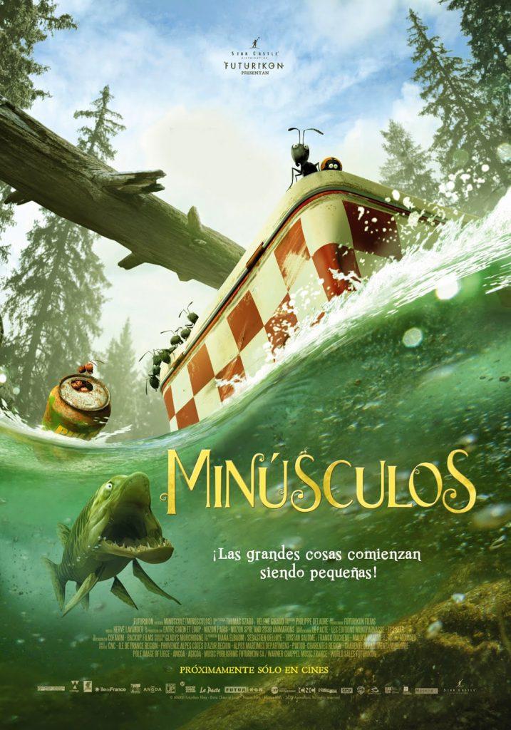 Cartel de 'Minúsculos'