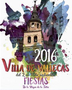 Cartel de las fiestas de la Virgen de la Torre