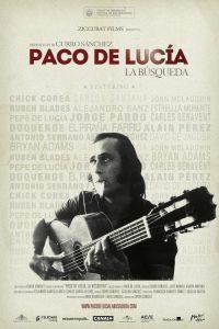 Cartel de 'Paco de Lucía: La búsqueda'