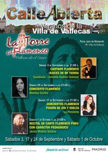 Cartel de La Torre del Flamenco