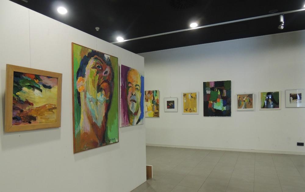 Exposición de Juan Manuel Moretón en el CC Lope de Vega