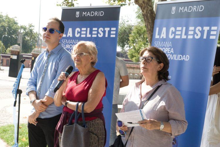 José Manuel Calvo, Manuela Carmena e Inés Sabanés (Foto: Ayto de Madrid)