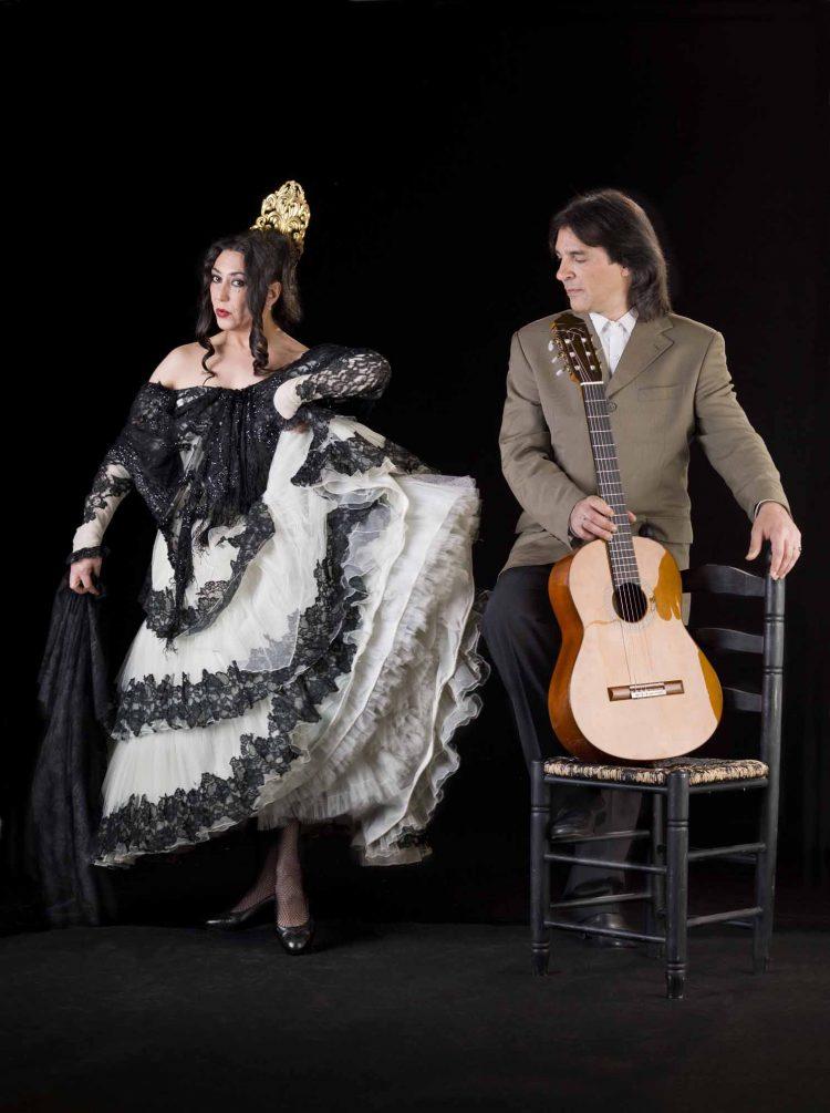 Lola Greco y «El Bola» (Foto: Chema Conesa)