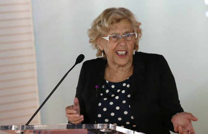 La alcaldesa de Madrid, Manuela Carmena (Foto: Madrid.es)