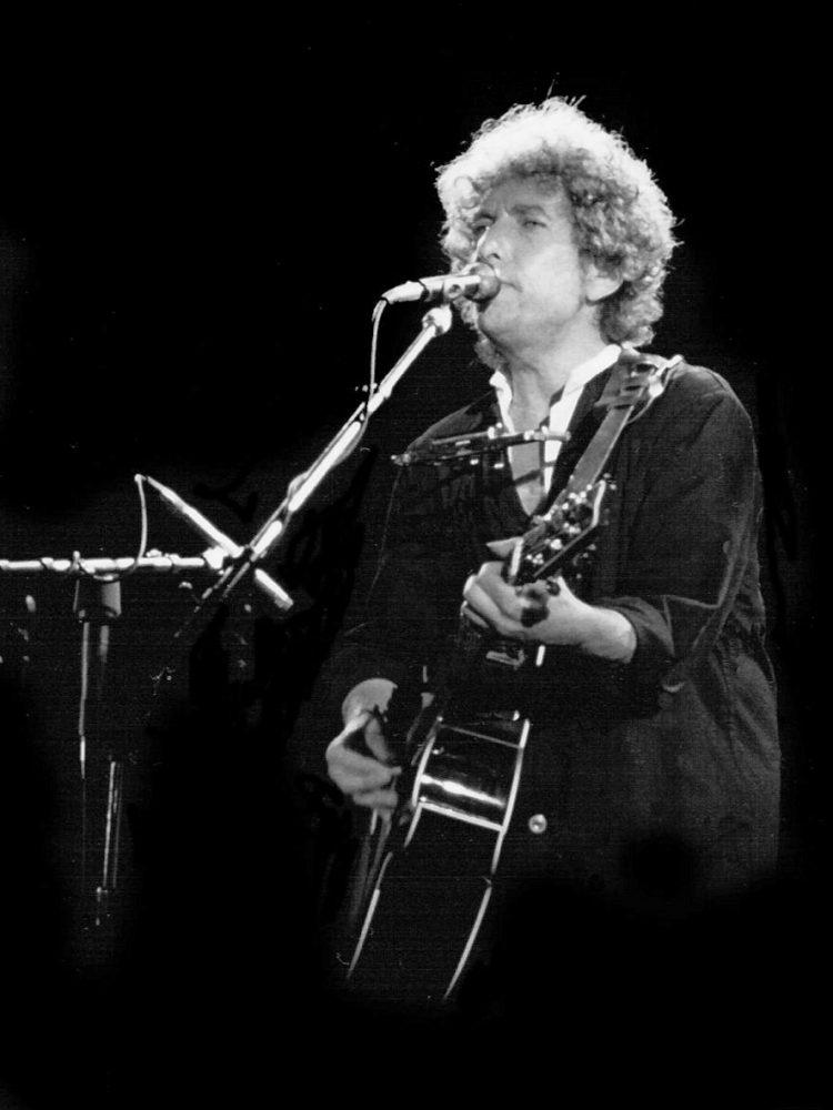 Bob Dylan en concierto en Barcelona en 1984 (Foto: Wikimedia)