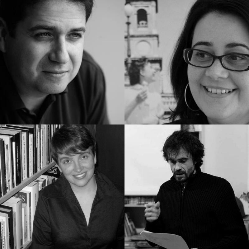 Jordi Doce, María García Zambrano, Ana Belén Martín Vázquez e Iván Rafael