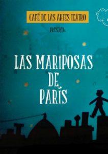 Cartel de 'Las mariposas de París'