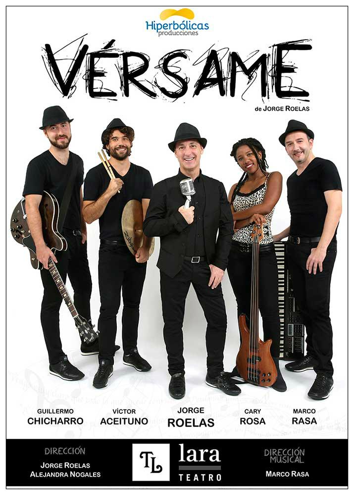 Cartel de 'Vérsame' (Foto: Hiperbólicas producciones)