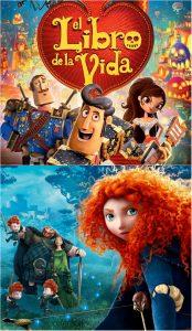 'El libro de la vida' y 'Brave'