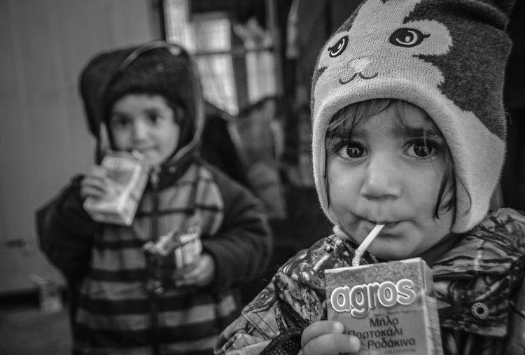 La mirada a los refugiados de Samanta Aretino (Foto: Web oficial de Samanta Aretino)