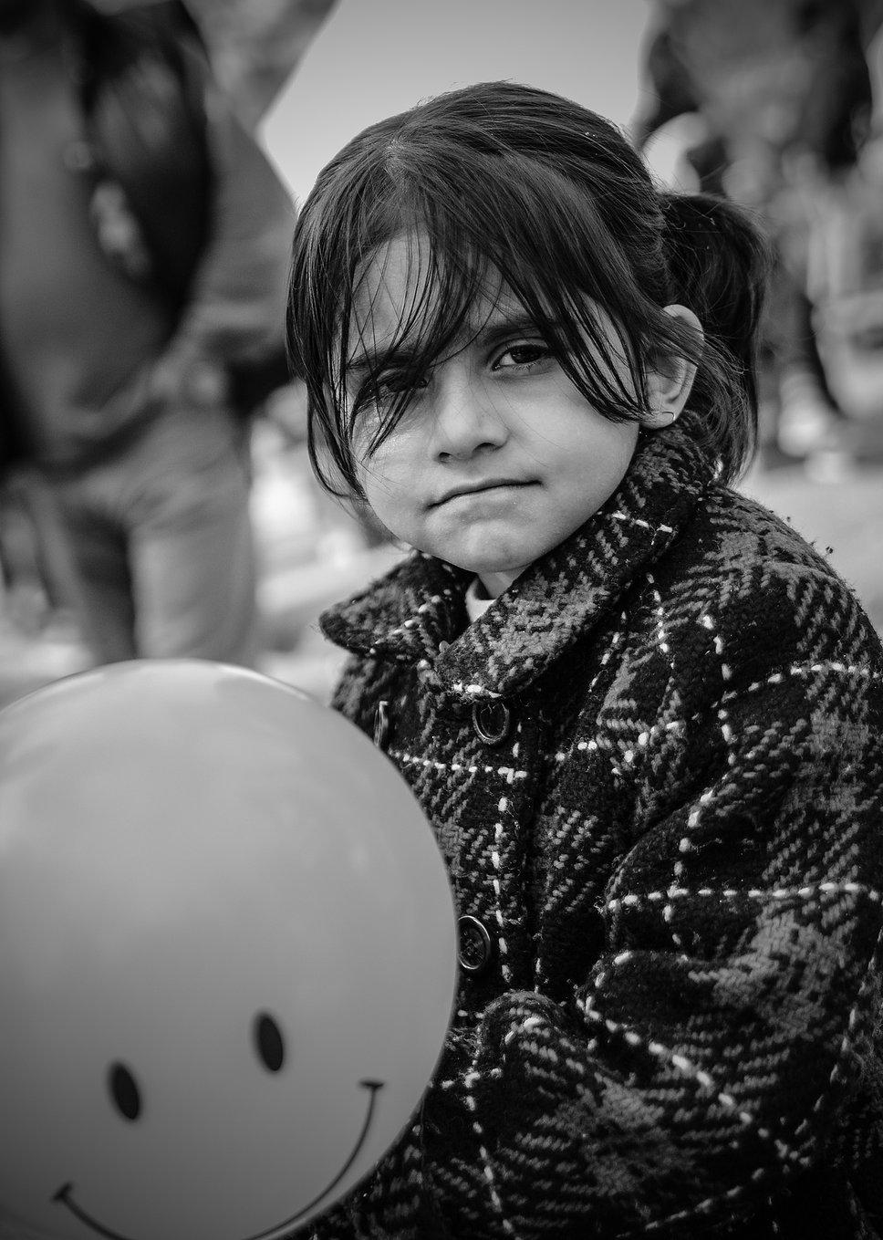 Una de las fotografías de 'Sin refugio' (Foto: Web oficial Samanta Aretino)