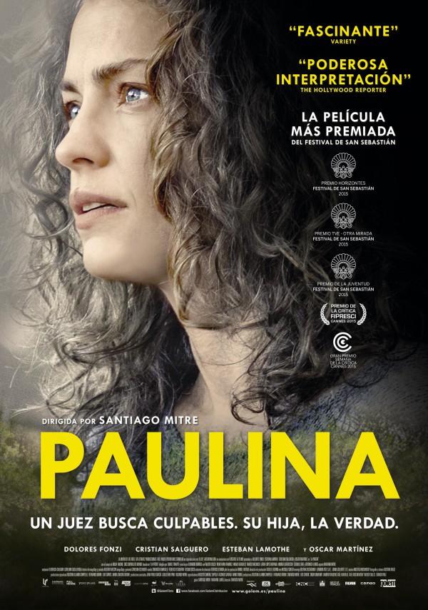 Cartel de 'Paulina' (Foto: Golem)