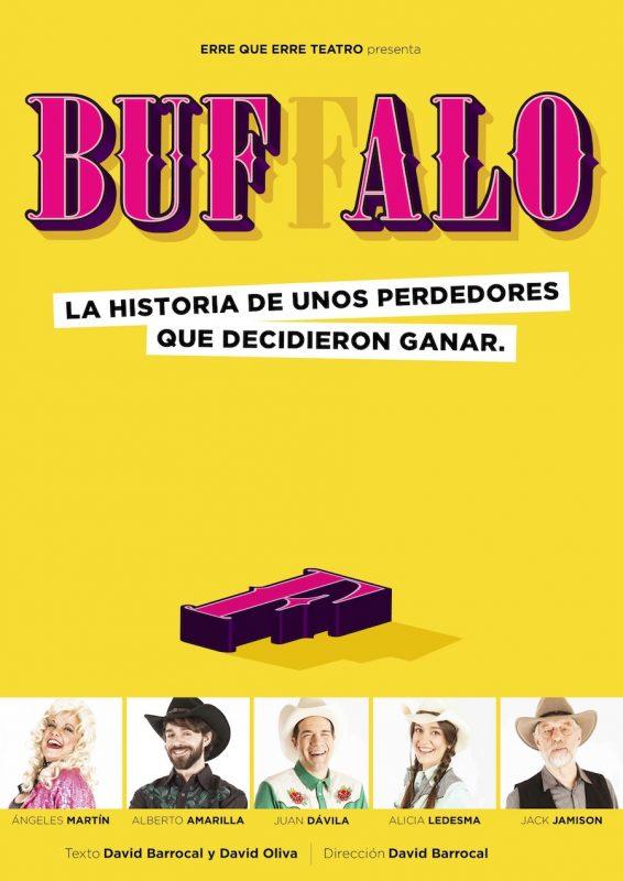 Cartel de 'Buffalo' (Foto: ERRE QUE ERRE TEATRO)