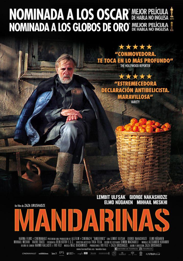 Cartel de 'Mandarinas' (Foto: Distribuidora)