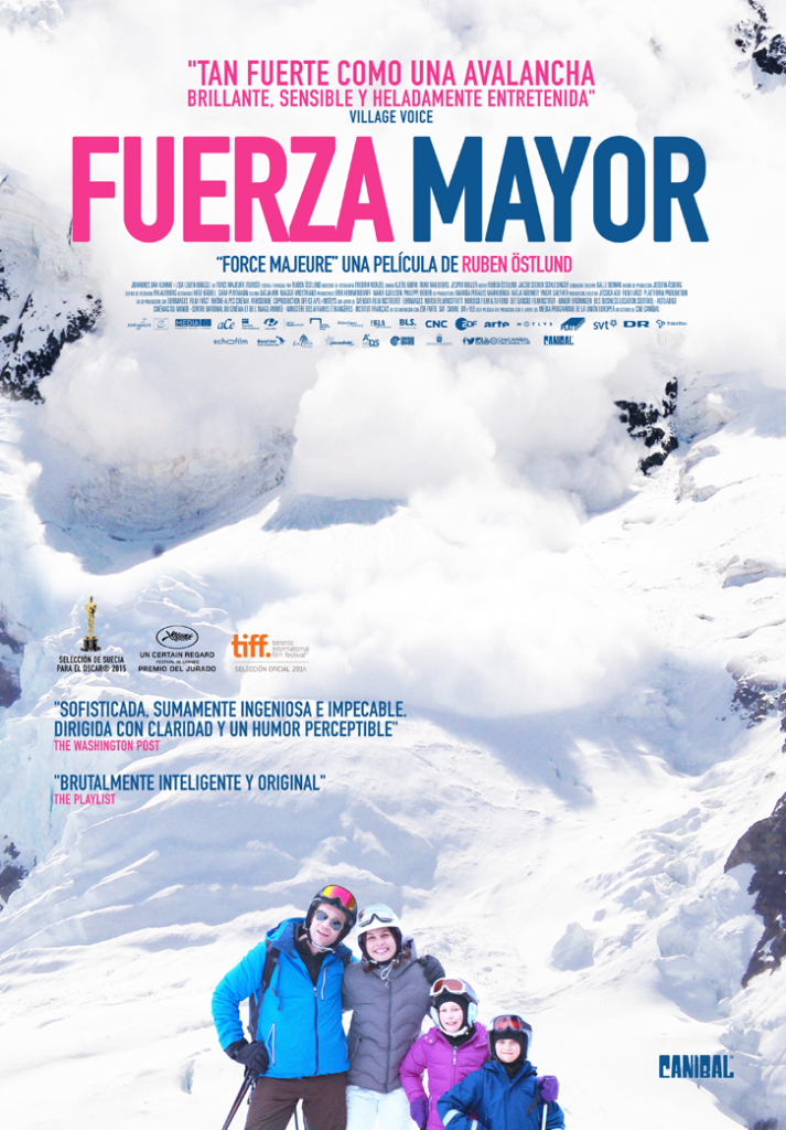 Cartel de 'Fuerza mayor' (Foto: Distribuidora)