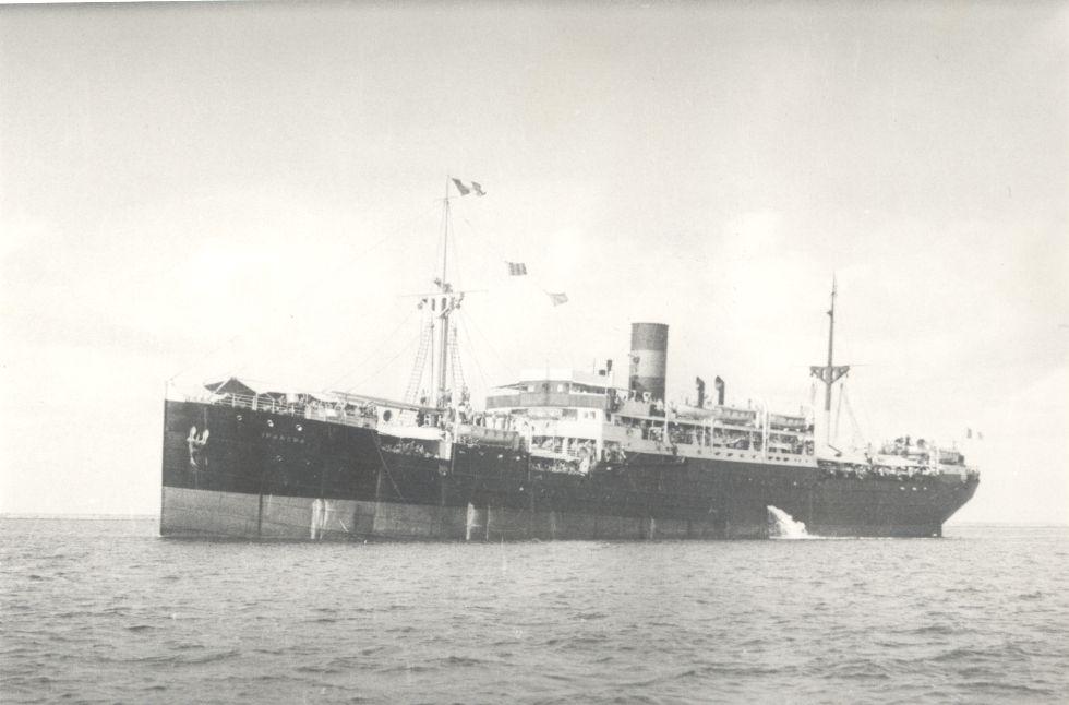 Fotografía del buque Sinaia