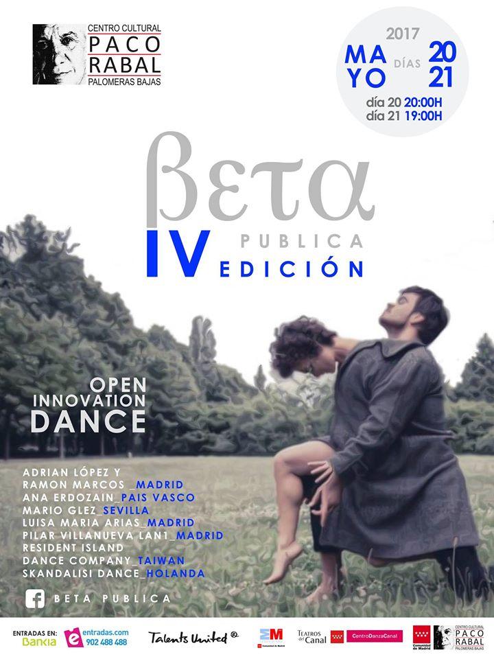Cartel de la IV edición de Beta Pública (Foto: FB Beta Pública)