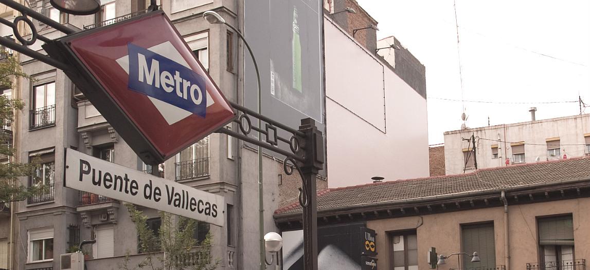 Estación de metro de Puente de Vallecas