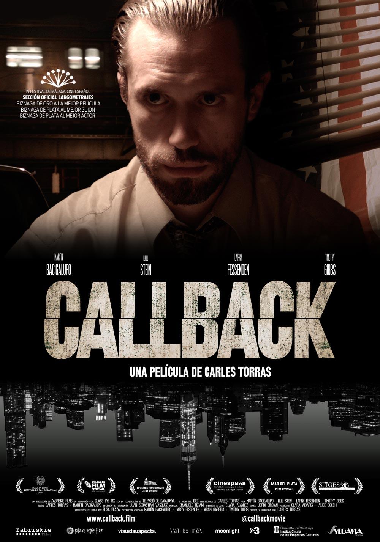 Cartel de 'Callback' de Carles Torras